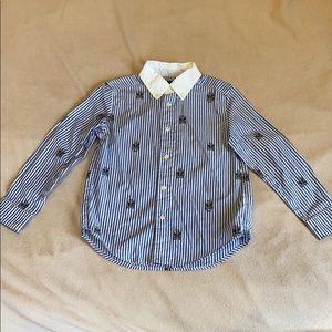 Ralph Lauren button down shirt 5yr